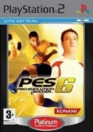 Pro Evolution Soccer 6 platinum (ps2 used game)