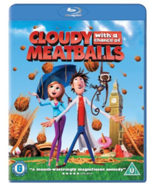 Cloudy with a chance of Meatballs Blu-ray + DVD (Blu-ray tweedehands film)