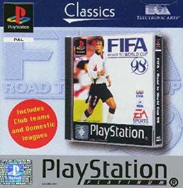 FIFA Road to World Cup 98 Classic zonder boekje  (PS1 tweedehands game)