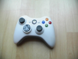 Witte wireless  xbox 360 controller (used)