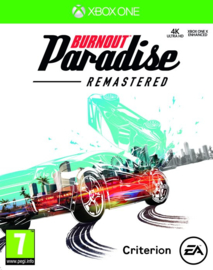 Burnout Paradise Remastered (Xbox one nieuw)