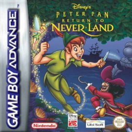 Disney's Peter Pan Return to Neverland  (Losse Cassette) (Gameboy Advance tweedehands game)