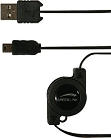 Speed-Link USB Kabel - zwart PSP (PSP Nieuw)