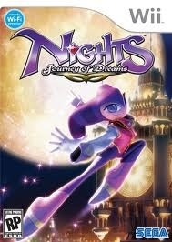 Nights Journey of Dreams (wii used game)
