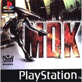 MDK (ps1 tweedehands game)
