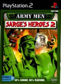 Army Men Sarges Heroes 2 zonder boekje (ps2 used game)