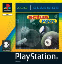 Actua Pool (ps1 tweedehands game)