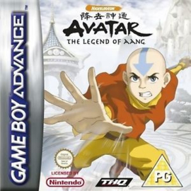 Avatar The Legend of Aang the last airbender  (Gameboy Advance tweedehands game)