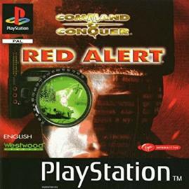 Command & Conquer Red Alert zonder boekje (playstation 1 psx tweedehands game)
