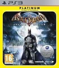 Batman Arkham Asylum platinum (ps3 used game)