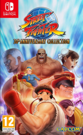 Street Fighter 30th Anniversary collection (Nintendo Switch tweedehands game)