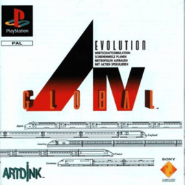 A.IV Evolution Global (PS1 tweedehands game)