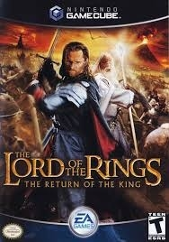 The Lord of the rings The return of the king zonder boekje (gamecube used game)