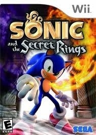 Sonic and the Secret Rings (wii used game)