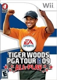 Tiger Woods PGA Tour 09 (wii used game)