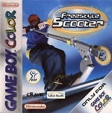 Freestyle Scooter losse cassette (Gameboy Color tweedehands game)