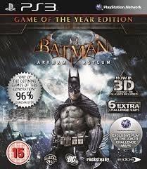 Batman Arkham Asylum Game of the year Edition (ps3 nieuw)