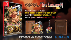 Tiny Barbarian pre-order edition (Nintendo Switch nieuw)