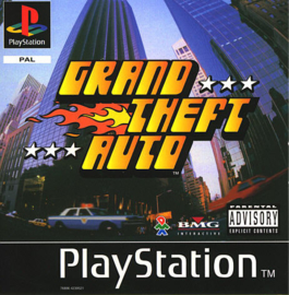 Grand Theft Auto (PS1 tweedehands game)