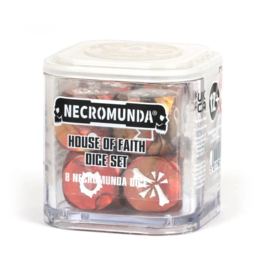 Necromunda house of faith dice set (Warhammer Nieuw)