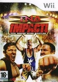 TNA Impact Total Nonstop action Wrestling (wii used game)