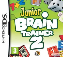 Junior Brain Trainer 2  (Nintendo DS nieuw) (Engels)