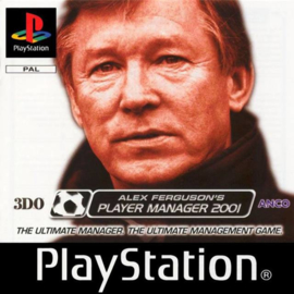 Alex Ferguson's Player Manager 2001 (PS1 tweedehands game)
