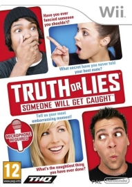 Truth or Lies (Nintendo wii tweedehands game)