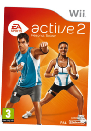 EA Active 2 Personal Trainer software only (Wii tweedehands game)