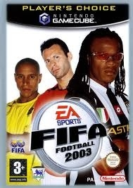 Fifa Football 2003 Player`s Choice zonder boekje (gamecube used game)