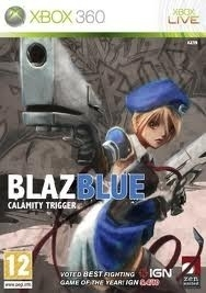 Blazblue Calamity Trigger (Xbox 360 used game)