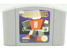 Robotron 64 losse cassette (Nintendo 64 tweedehands game)
