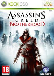 Assassin's Creed Brotherhood zonder boekje (Xbox 360 Used game)