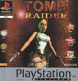 Tomb Raider platinum (PS1 tweedehands game)
