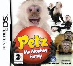 Petz My Monkey Family zonder boekje (Nintendo DS used game)