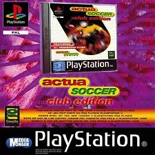 Actua Soccer Club Edition (PS1 tweedehands game)