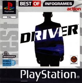 Driver  platinum beschadigd doosje (PS1 tweedehands game)