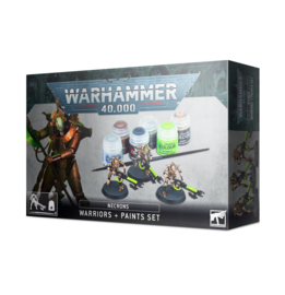 Necrons Warriors plus paints set (Warhammer 40.000 nieuw)