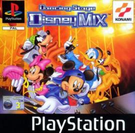 Dancing Stage Disney Mix (PS1 tweedehands game)