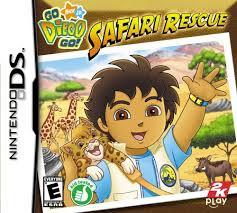 Go Diego Go Safari Rescue (Nintendo DS nieuw)