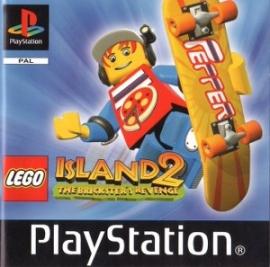 Lego Eiland 2 zonder cover (PS1 tweedehands game)