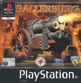 Ballerburg (PS1 tweedehands game)