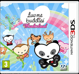 Luv me buddies Wonderland (Nintendo 3DS tweedehands game)