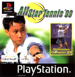 All Star Tennis '99 (ps1 tweedehands game)