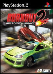 Burnout 2 Point of Impact (ps2 used game)