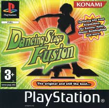 Dancing Stage Fusion zonder cover (PS1 tweedehands game)