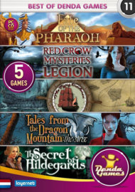 Best of Denda games 11 - 5 spellen in 1 (PC game nieuw)