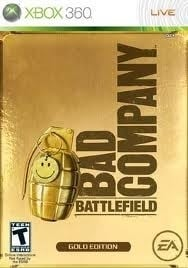 Battlefield Bad Company gold edition (xbox 360 used game)