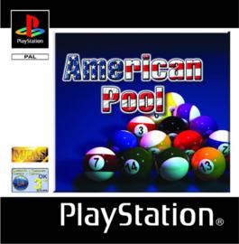 American Pool zonder boekje (ps1 tweedehands game)