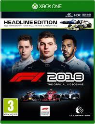 F1 2018 (xbox one nieuw)